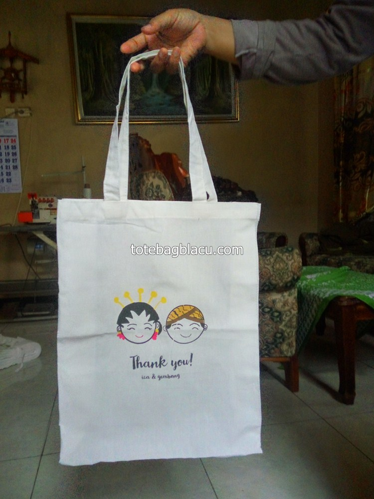 tote bag blacu goodie bag